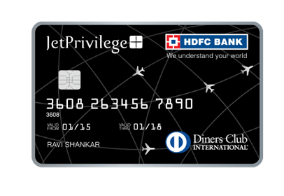 Jetprivilege-HDFC-Diners-Club-Credit-Card