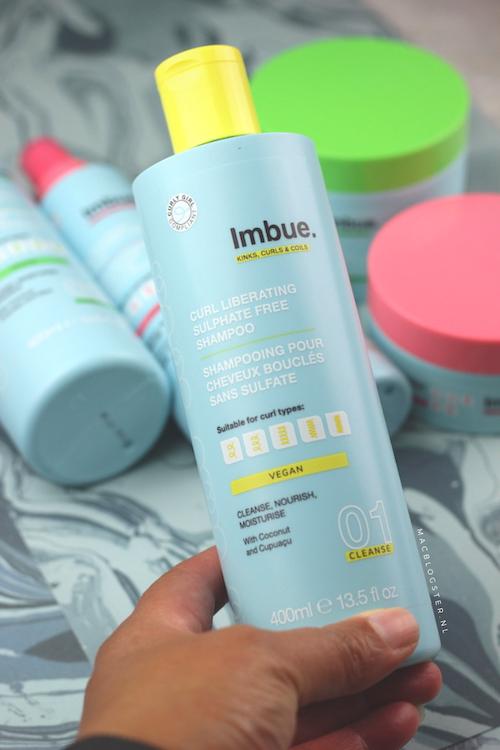 GC shampoo: Curl liberating  sulfate free shampoo