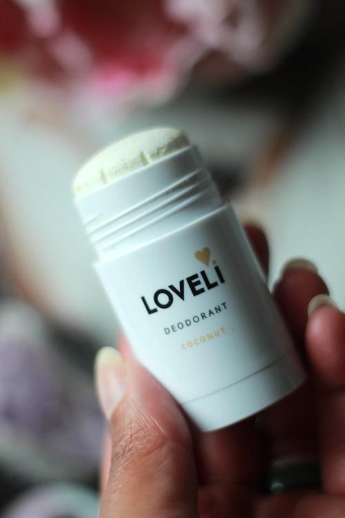 Loveli deodorant stick Coconut werkt goed tegen zweetlucht