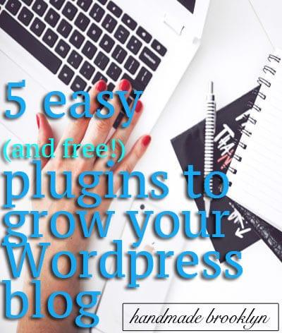 5 Free Plugins for WordPress