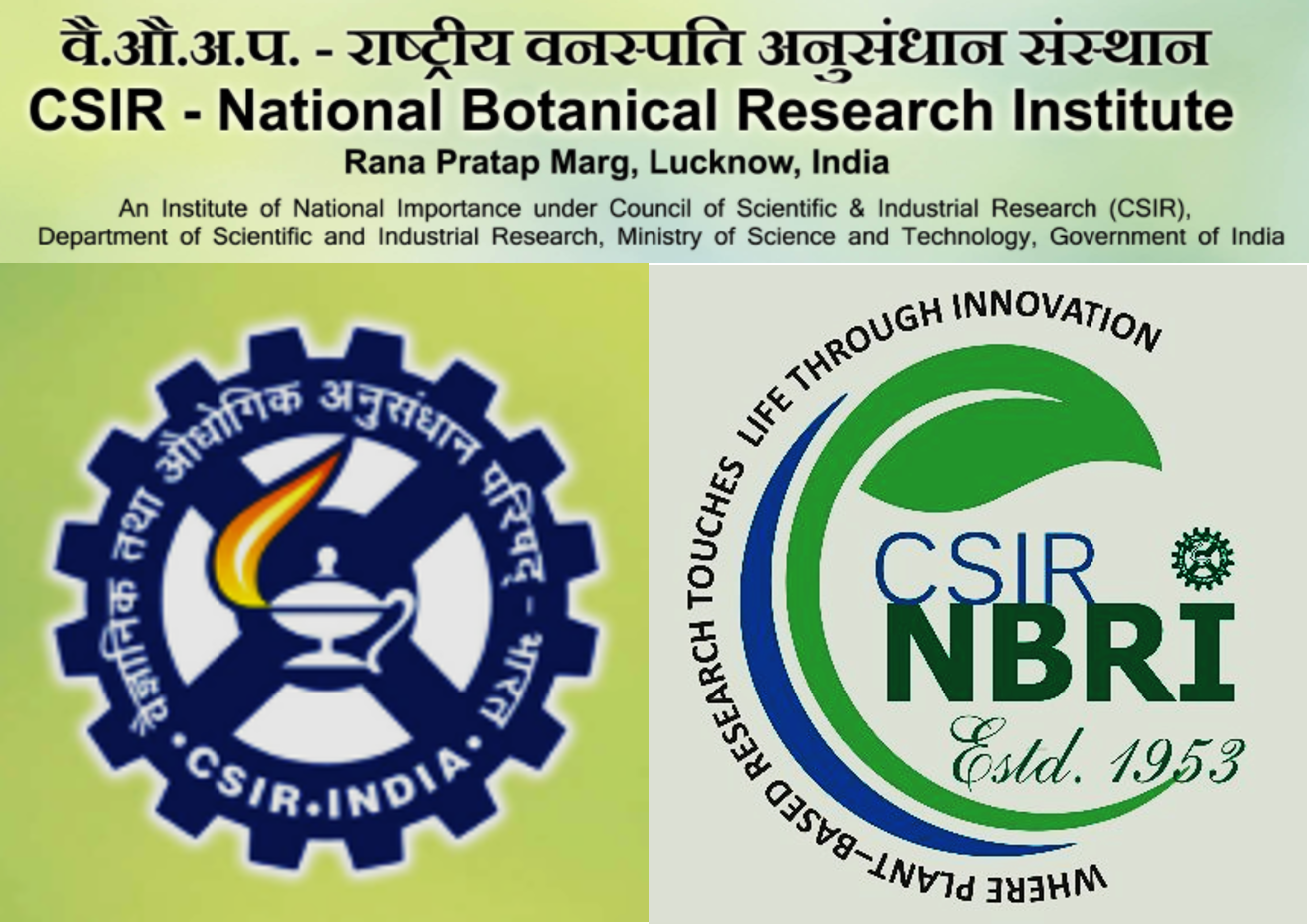 Scientific Positions at CSIR-NBRI, Lucknow: Apply by 27 Feb. 2021