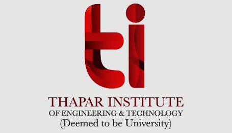 Faculty Positions at Thapar Institute of Engineering & Technology, Patiala, Punjab, India