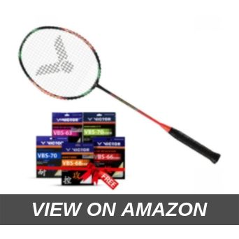 Victor Jet Speed S 10-Q G5 Speed Series Unstrung Badminton Racket