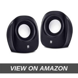 iBall Sound Wave 2-2.0 Channel Multimedia Speakers (Black)