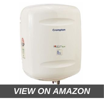 Crompton Solarium DLX SWH810 10-Litre Storage Water Heater (Ivory)