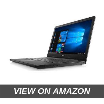 DELL Inspiron 3567 15.6-inch FHD Laptop (7th Gen-Core i3-7020U 8GB 1TB HDD Windows 10 MS Office), Black