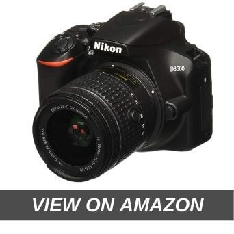Nikon D3500 W/AF-P DX Nikkor 18-55mm f/3.5-5.6G VR with 16GB Memory Card and Carry Case (Black)