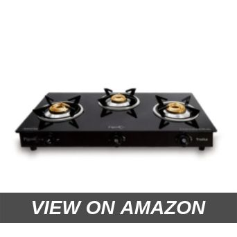 Pigeon by Stovekraft Troika Glass-Ceramic 3 Burner Gas Stove