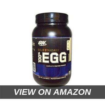 Optimum Nutrition 100_ Egg Protein, Vanilla Custard, 2 Pound