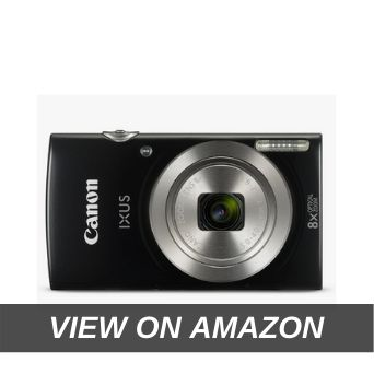 Canon IXUS 185 20MP Digital Camera with 8x Optical Zoom