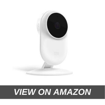 Mi Full HD Wi-Fi Smart Security Camera (1080p) |Up to 32 ft Night Vision | Intruder Alert | Ultra-Wide Angle Lens | Two-Way Audio