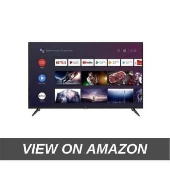 4. TCL 108 cm (43 inches) AI 4K UHD Certified Android Smart LED TV 43P8 (Black) (2019 Model)