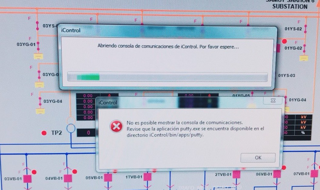 iControl5.4.xx_errormessagePutty01