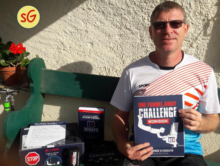 OFA challenge Stef Grandgi unboxing