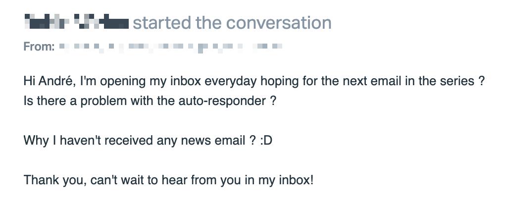 Screenshot of an email.