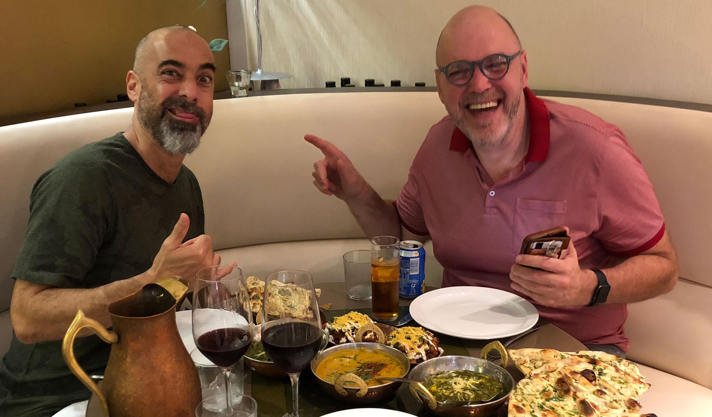 André & Peter (Gibraltar, September 26, 2018)