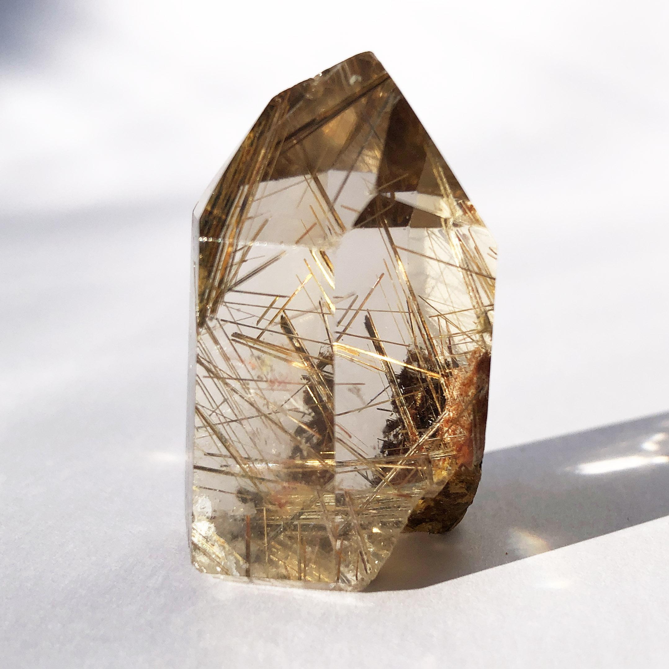 Gold Rutilated Quartz