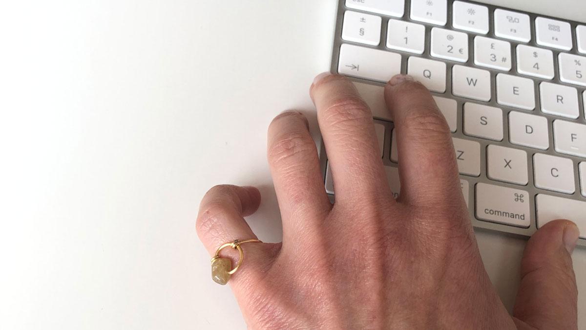 My Create Signature Totem ring