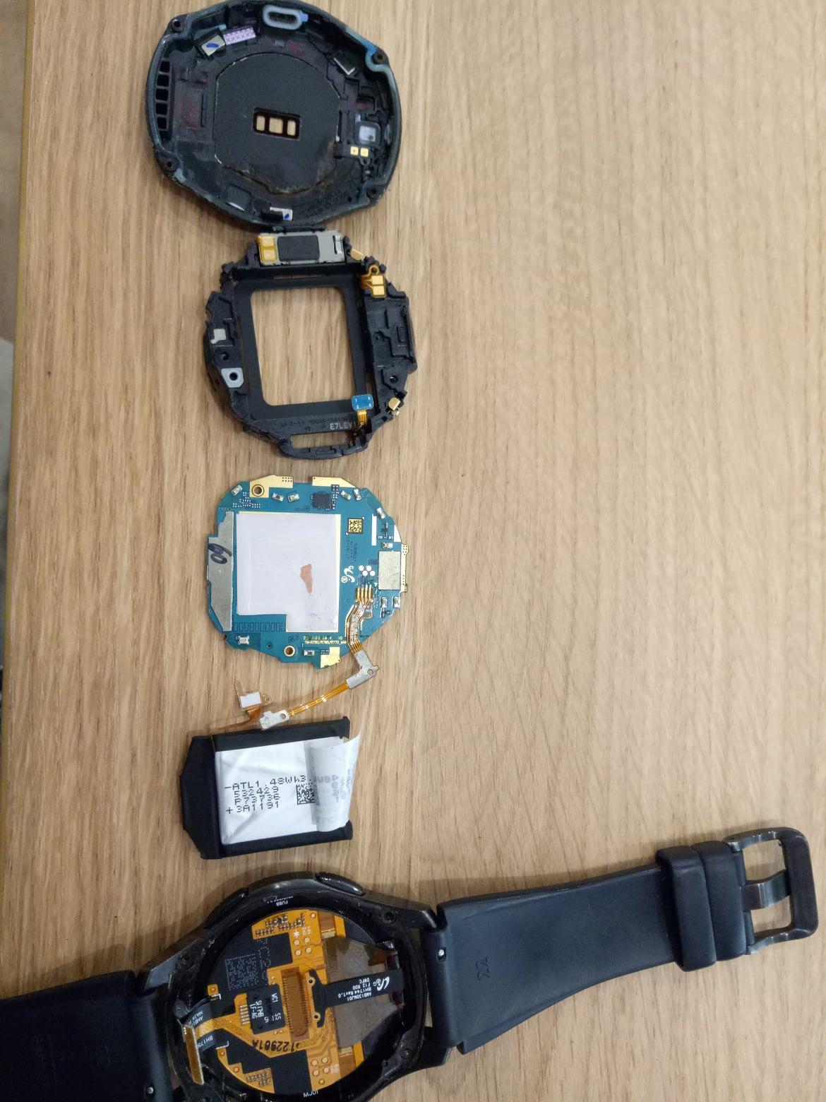 motherboard corrosion repair