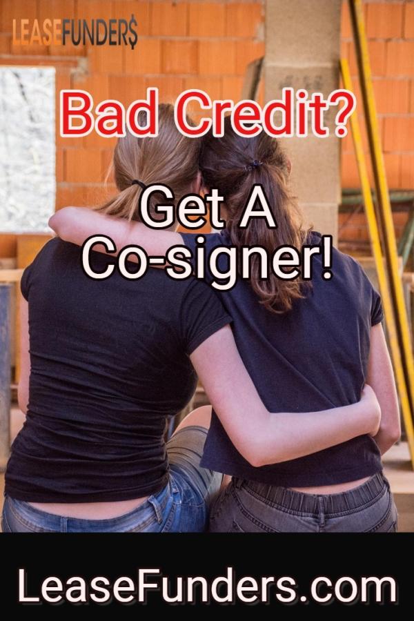 get a co-signer