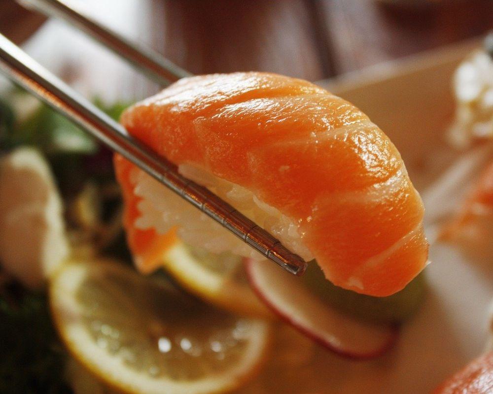 salmon, sushi, dining room-1353598.jpg