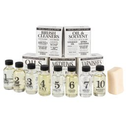 Oil Painting Medium & Cleaner Sets