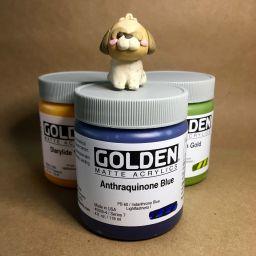 Golden Raw Materials Art Supplies