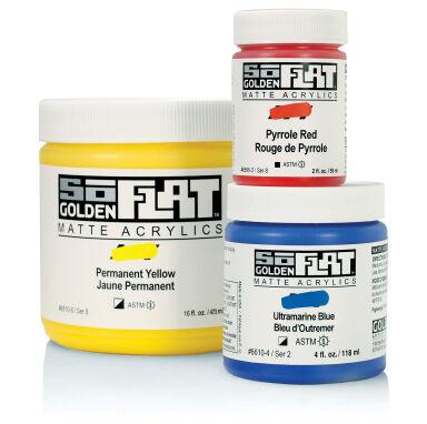 Golden SoFlat Matte Acrylics