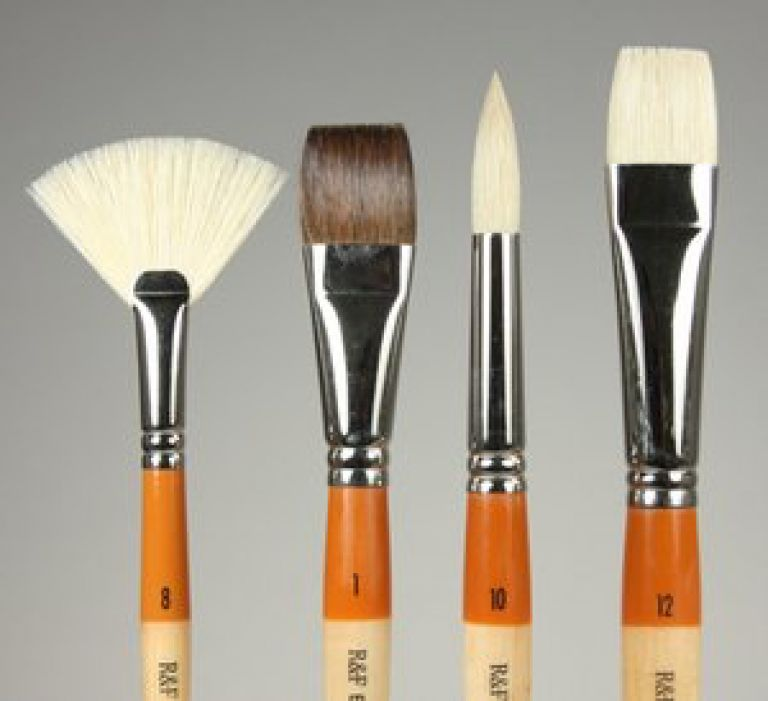 Encaustic Brushes