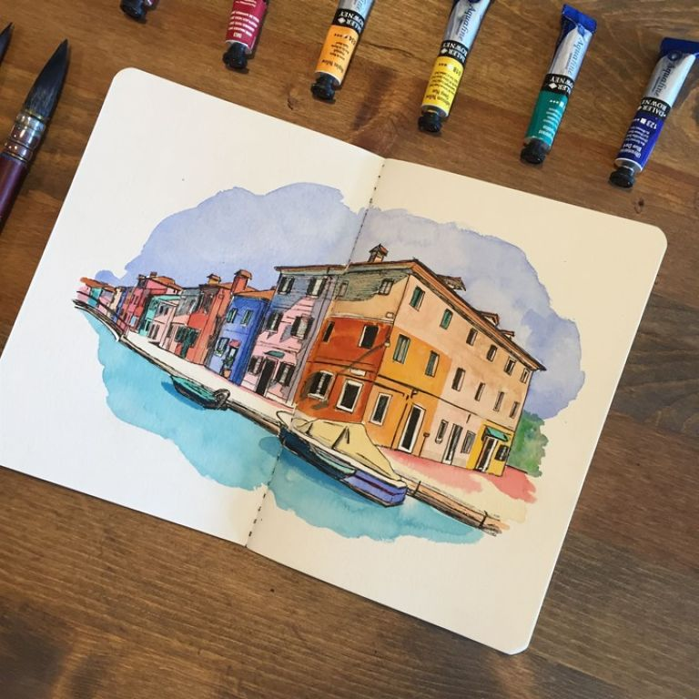 Watercolor Travel Journals & Pads