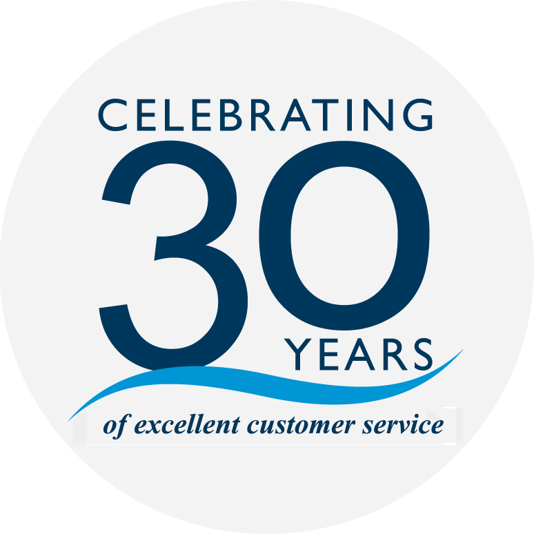 30 Years Of Excellent Customer Service