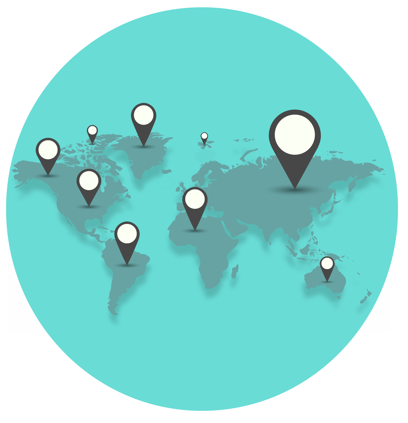 No. Of Coworking Spaces Per Region