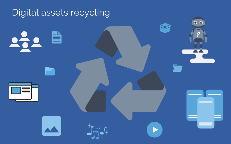 Digital assets recycling