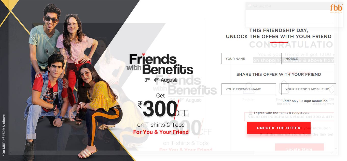 Friendship Day | Friendship Day Celebraions | Friendship Day Offers - fbb