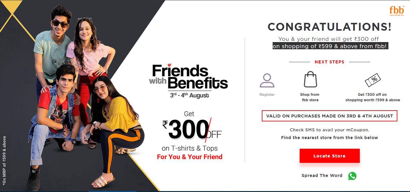 Friendship Day | Friendship Day Celebraions | Friendship Day Offers - fbb Online dealsmagnet
