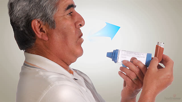 Using an Inhaler and Spacer