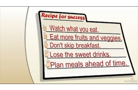 Five Ingredients for Healthy Eating