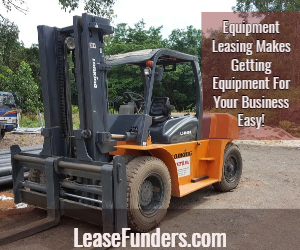 equipment leasing makes getting equipment easy