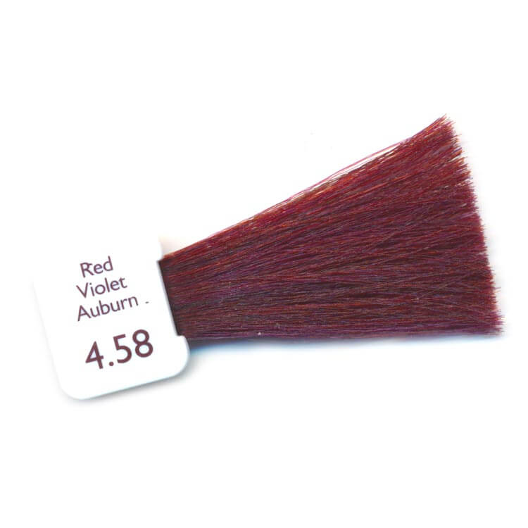 PPD Free Hair Colour - red violet auburn
