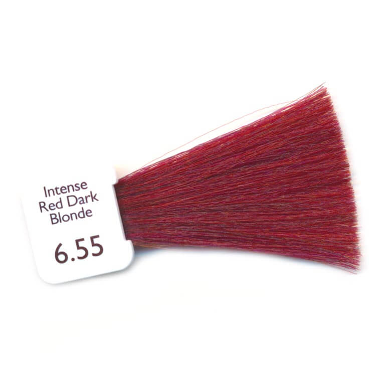 PPD Free Hair Colour - intense red dark blonde