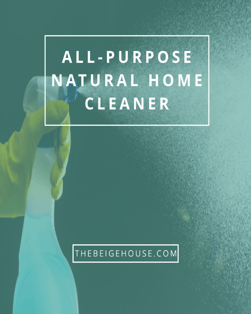 All-Purpose Natural Home Cleaner