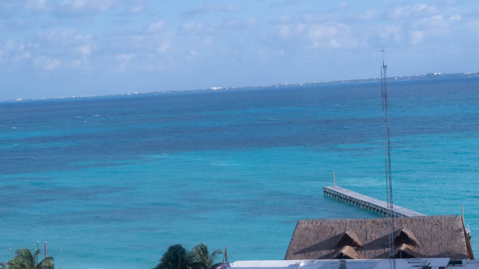 Cancun Mexico Travel Diary - hotel room view