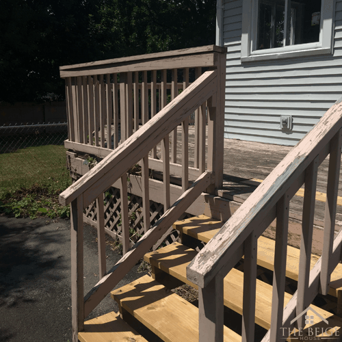 redo the fence and deck