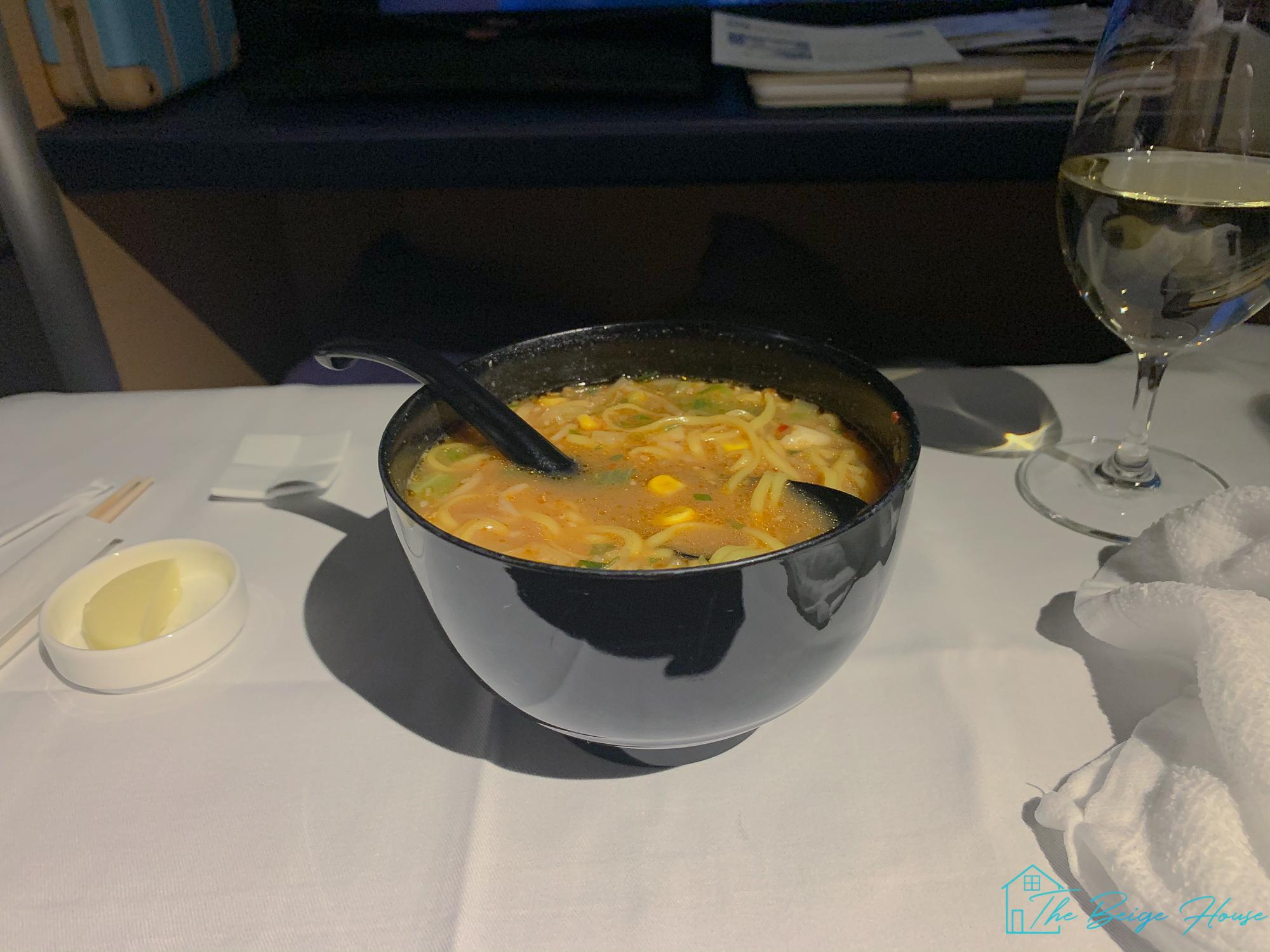 ANA Flight O'Hare to Narita Review