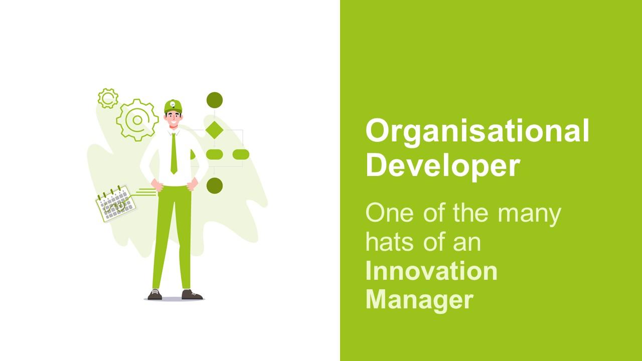 An Innovation Manager Is An Organisational Developer