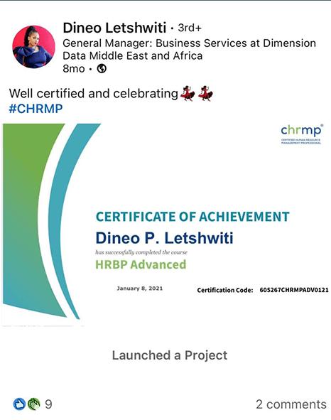 Dineo Letshwiti