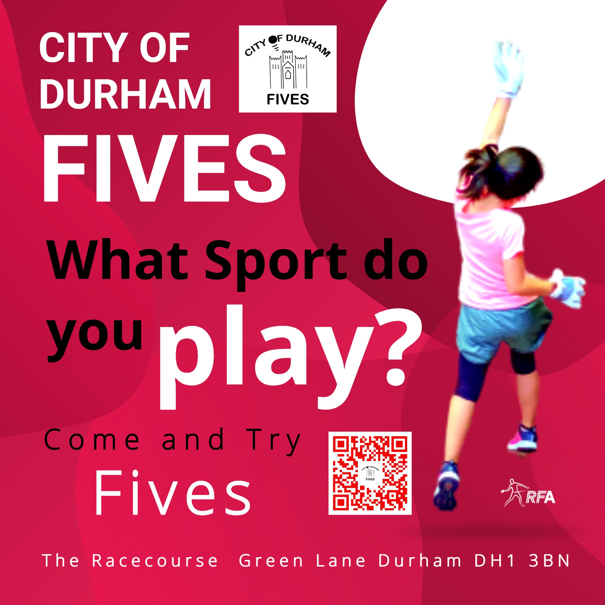 city of durham fives What sport