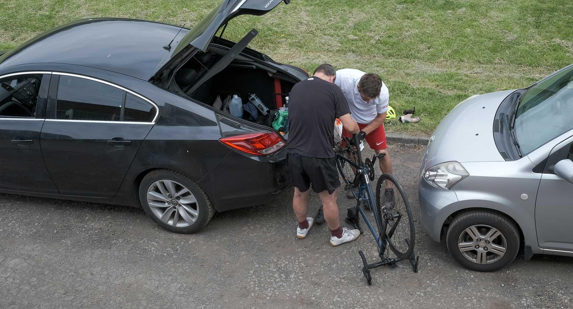 Festival of Fives Fix the bike