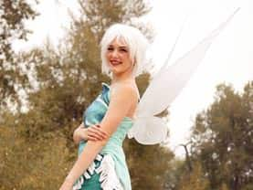 The Frost Fairy's wings are frozen wonders and are identical to her sister fairy's wings