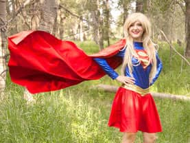Girl who is Super is a great role model for boys and girls